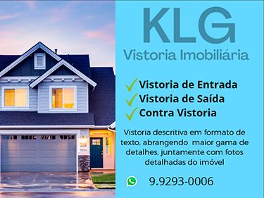 Banner KLG Vistoria.